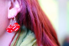 Playful earrings at IMWe 2014