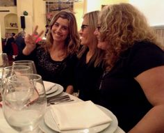 Tres blogueras felices en Meson Bandolero