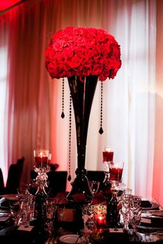 #wedding #love #blackwedding  #redwedding  #ideas #black #theme #motif