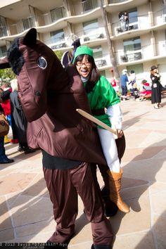 Full Link + Epona cosplays! Pic by #DTJAAAAM