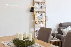 Deko Idee I DIY Idee: Weihnachtliches Wohnzimmer im skandinavischen Stil Weitere tolle DIY Ideen, Deko und Basteltipps findet ihr unter: www.homemadebypatricia.de