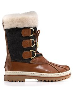 Winter boots by Tory Burch