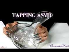 Long Nails Tapping on Glass Wine Decanter ASMR | CosmeticSnob