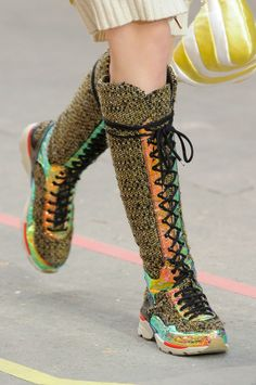 Chanel Fall 2014 sneakers #PFW