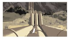 "the art of kevin nelson: ""Bolt"" thumbnails"