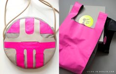 "In a pink mood....new bags at the ""Boutique Ephèmere""  event next week 14-15-16 of March at Galerie Joseph, 7 rue Froissart, Paris. (http://www.la-boutique-ephemere.com/)"