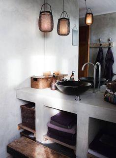 betong badrum