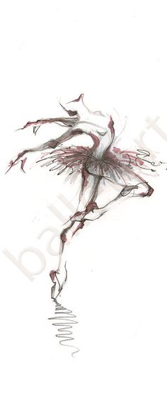 talking ballet by BalletArt on Etsy, $350.00