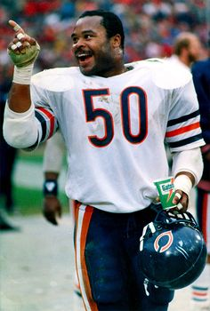 Mike Singletary of the Chicago Bears.