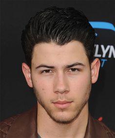 Nick Jonas Hairstyle - Short Straight Formal - Dark Brunette