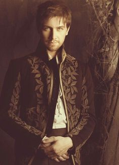 Not sure whether this should be classified as a Fairytale or a Handsome person. Torrance Coombs/Bash forever.