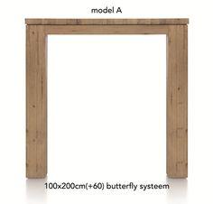 A La Carte, uitschuif-bartafel 200 (+ 60) x 100 cm - AAD
