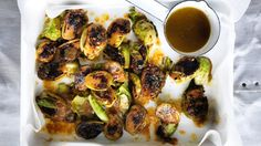 Miso butter brussels sprouts recipe