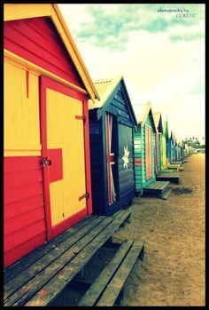 Brigthon Beach Bathing Boxes - Australia