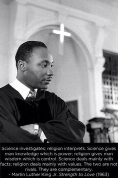 MLK on Religion and Science