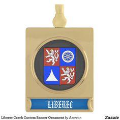 Pardubice City Czech Republic Flag Gold-tone Tie Clip Engraved Personalised