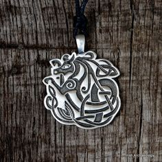 This distinctive Celtic pendant is decorated with a spirit kelpie. According to folklore the kelpie was a supernatural water horse that haunted the rivers and lochs of Scotland and Ireland. Available here http://irisharchaeologyshop.com/collections/celtic-and-irish-pendants/products/celtic-kelpie