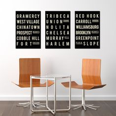 NYC Collection 12x18, $68, now featured on Fab.