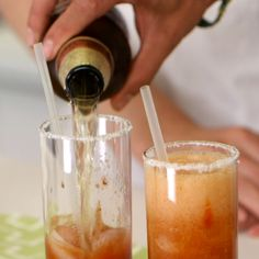Meet the Cubana, a Michelada-Inspired Hair-of-the-Dog Cocktail. see video & recipe. Becoming increasing in popularity.