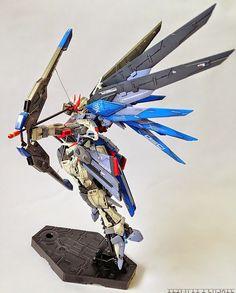GUNDAM GUY: RG 1/144 Renegade Freedom Gundam - Customized Build