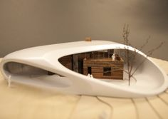 architecture model | Maggie's Cancer Caring Centre | Snøhetta