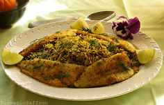 Turmeric and Saffron: Mahi - Fish (Fried, Smoked or Baked) Persian New Year's Day Lunch/Dinner