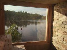 Sauna Design, Interior Garden, Interior Design, Outdoor Spa, Spa Rooms, Saunas, Travel Design, Pool Designs, Nice View