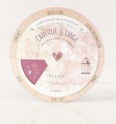 Chantelle Wheel Invite