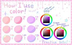 Tutorial - How I use color by SmexyViButt.deviantart.com on @DeviantArt