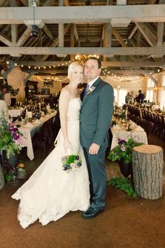 Snowy Winter Wedding by Jennifer Eileen Ruffled