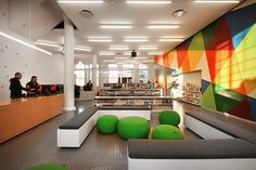How To Design A Library For Teens: Bleachers, Snacks, And Wii - Big Ideas - Curbed NY