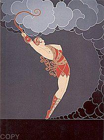 The Dancer by Erte