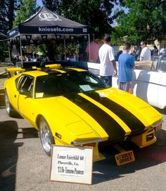 Kniesel's Classic Car & Hot Rod Exhibition • /72 De Tamaso Pantera • #livestock #fair #placerville #hangtown #sacramento #eldoradocounty  #kniesel's   #family #ffh #agriculture #norcal #farm #cowboy #cowgirl #country #ponyride #music #budweiser #wellsfargo #sponsors #livemusic #band #ranchsorting #muttonbustin' #haybucking #cowboys #cowgirls #detamasopantera #hotrod #classiccar #classic • MORE PICTURES: ↓↓↓  https://www.facebook.com/pages/El-Dorado-County-Fair/52142383821