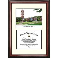 Campus Images NCAA Central Florida Golden Knights Tassel Box and Diploma Frame