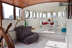 Houseboat on the Amstel river in Amsterdam from $149 per night