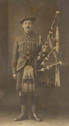 Piper , I believe this to be  Seaforth Highlanders