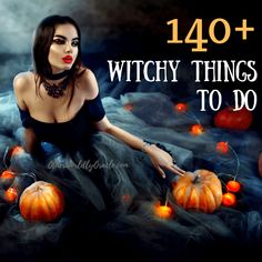 Running out of inspiring ideas for your witchcraft practice? Here's our ULTIMATE list of 140+ SUPER witchy things to do daily or whenever you want!