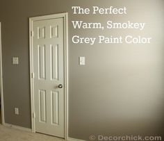 """mushroom"" sherwin williams Warm Grey Paint Color"