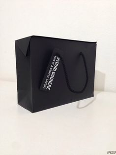 BAG BOX | Black More unconventional #packaging solutions on packagingspecialist.eu/blog