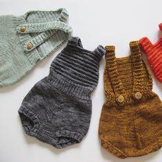 Sugar Maple Sunsuit – misha-and-puff Knitting For Kids, Baby Knitting, Crochet Baby, Knit Crochet, Fashion Kids, Little Fashion, My Baby Girl, Baby Love, Baby Dirndl