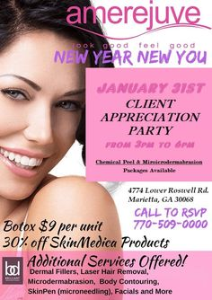 New Announcement...Call Jemilla  (770) 509-0000 #lowerroswellrd to schedule your appointment w/ Dr. Darshana's Botox Special on 1/31/18. $100 off 1 syringe, $200 off 2, & $300 off 3 or more. And get a bonus of Free Facial, Chemical Peel #botox #eastcobb #medspa #voluma #juverderm