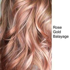 Rose Gold Hair Color at Home Elegant Trends 2018 Gold Rose Hair Color Rose Gold … Rose Gold Haarfarbe zu Hause Elegante Trends 2018 Gold Rose Haarfarbe Rose Gold Balayage – Haarfarben Rose Hair Color, Hair Color For Fair Skin, Hair Color Balayage, Hair Highlights, Ombre Hair, Gold Hair Colors, Trendy Hair Colors, Grunge Hair, Strawberry Blonde Hair