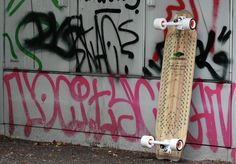 BuddyBuddy  With the ''Gute Laune'' Longboard Paradise right outside the gates of the city... Sabre Trucks , Cult Wheels D / AT / CH , EntropyResins EU