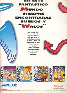 Mario and Wario on Game Boy