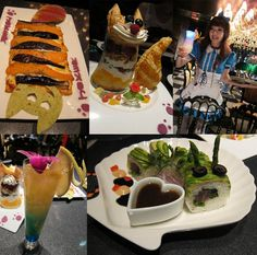 Alice in Wonderland theme food | ALICE IN WONDERLAND CAFE, SHINJUKU, cute food. PEPSI TV: FUN PLACES IN ...