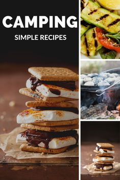 Everything tastes better over a campfire and eaten at a campsite. Get 101 desserts, entrees, chicken, chili and even jerky recipes!
