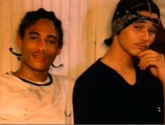 Lol! My twin sister and I were so in love with these two, back in the day! Layzie and Bizzy Bone...Bone Thugs N Harmony