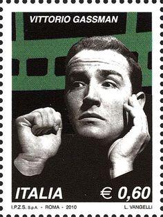 Italy Stamp 2010 - Vittorio Gassman