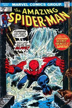 Las portadas de Romita padre para Spider-Man, siempre una delicia.