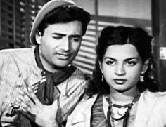 Dev Anand and Kalpana Kartik